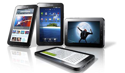 """Samsung stellt """"GalaxyTab"""" der Öffentlichkeit vor (Bild: Samsung)"""