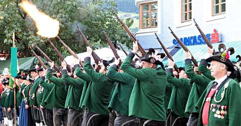 Mittersiller feiern ihre Samer mit großem Fest (Bild: Andreas Kreuzhuber)