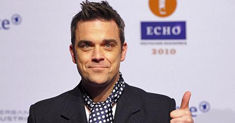 Robbie Williams hat übersinnlichen Mitbewohner (Bild: EPA)