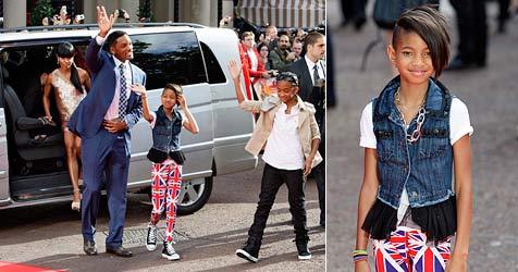 """Will Smiths Tochter Willow """"viel zu jung für den Pop-Zirkus"""" (Bild: EPA)"""