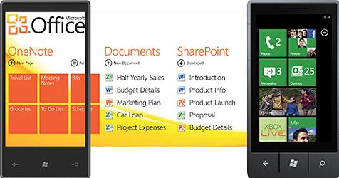 Windows Phone 7 ab Ende Oktober auf heimischen Handys (Bild: Microsoft)