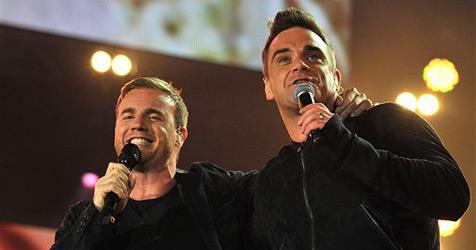 Erster Auftritt seit 15 Jahren: Robbie und Gary Barlow