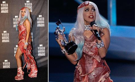 Lady Gaga schockt mit Ekelkleid und Ekelschuhen