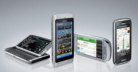 Nokia kündigt neue Symbian-3-Smartphones an (Bild: Nokia)