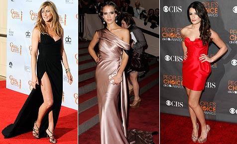 Das sind die 10 am besten gekleideten Promiladys 2010