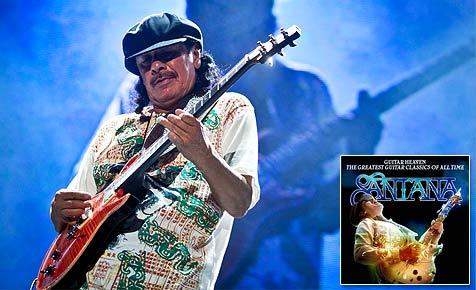 Jetzt mitmachen und eine Gitarre von Santana gewinnen!