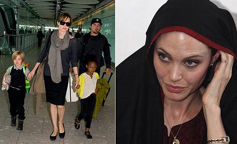 Angelina Jolie wiegt höchstens noch an die 45 Kilogramm