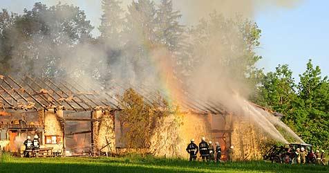 """""""Feuerteufel"""" nicht aus der Feuerwehr verbannt (Bild: Foto Kerschi)"""
