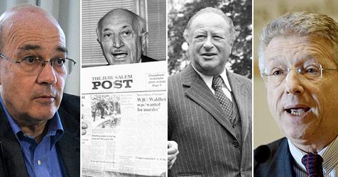 Wiesenthal vs. Kreisky vierzig Jahre später (Bild: APA, AP)