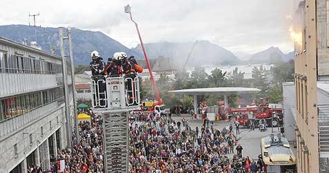 5.000 Besucher staunten am Tag der offenen Tür (Bild: MARKUS TSCHEPP)