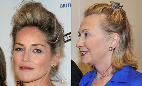 """Hillary Clinton und Co: Jeder hat mal """"Bad Hair Days"""""""