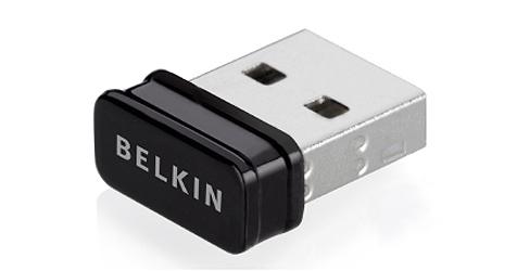 Kleinster WLAN-USB-Adapter der Welt vorgestellt (Bild: Belkin)
