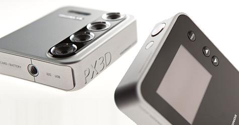 Minox zeigt Kamera mit vier Objektiven für 3D-Wackelbilder (Bild: Minox)