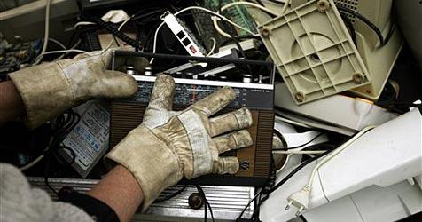 Österreicher spitze im Sammeln von Elektroschrott