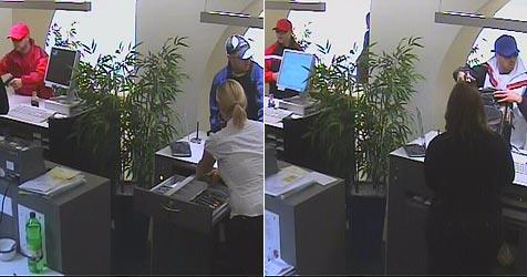 Räuber-Duo muss Bank vor Überfällen ausspioniert haben (Bild: Polizei)