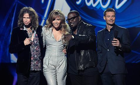 """Jennifer Lopez und Steven Tyler bei """"American Idol"""""""