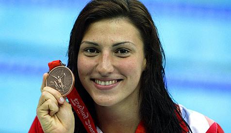 Schwimm-Star Mirna Jukic beendet ihre Karriere (Bild: APA/Hans Klaus Techt)