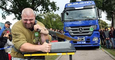 Muskelprotze und kluge Tiere - Tag der Weltrekorde (Bild: Klemens Groh)