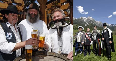 150 Teilnehmer zur Bart-EM im Pinzgau erwartet (Bild: APA/Saalfelden Leogang Tourismus)