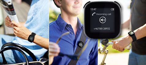 Bluetooth-Display für Android-Handys von Sony Ericsson (Bild: Sony Ericsson)