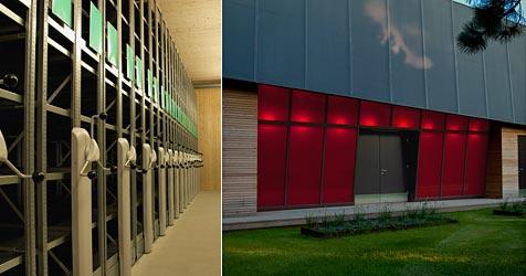 Filmarchiv eröffnet neues Nitrofilm-Depot in Laxenburg (Bild: Filmarchiv Austria)