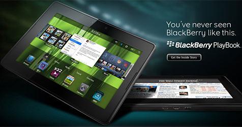 RIM stellt seine Antwort auf Apples iPad vor