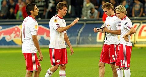 """Salzburg vor Lech Posen gewarnt: """"Ein starkes Team"""" (Bild: APA/KRUGFOTO)"""
