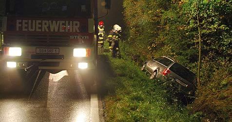 27-jähriger Mann nach Autounfall ertrunken (Bild: FF St. Anton)