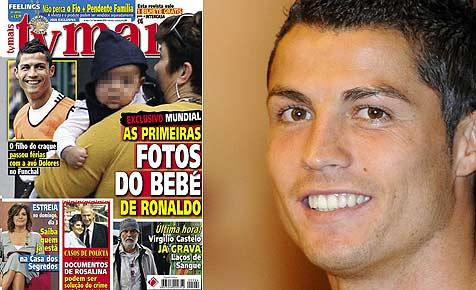 Erstmals Fotos von Ronaldos kleinem Sohn veröffentlicht