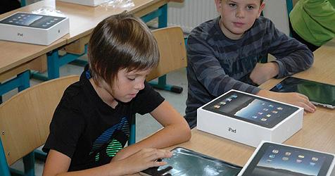 Burgenland startet erste iPad-Klassen Österreichs (Bild: APA/SIGRID MÜLLER)