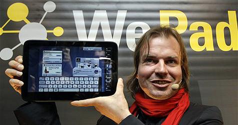 Neofonie zieht sich aus WeTab-Projekt zurück (Bild: AP)