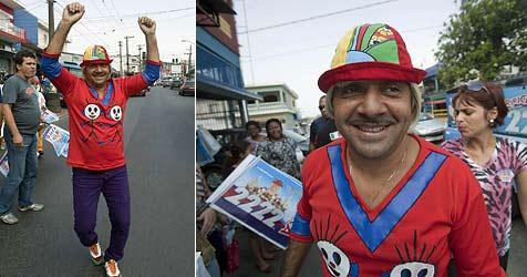 Clown in Brasilien zum Abgeordneten gewählt (Bild: EPA)