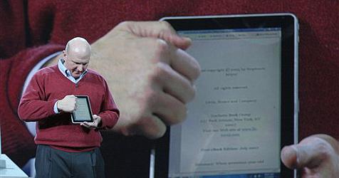 Microsofts iPad-Konkurrent kommt bis Weihnachten (Bild: AP)
