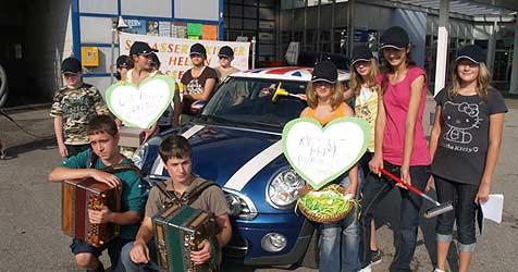 Strasser Schüler sammeln 195.000 € für arme Kinder (Bild: Privat)