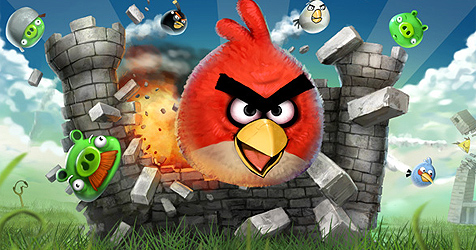 Microsoft bewirbt Windows Phone 7 mit falscher App (Bild: Rovio Mobile)