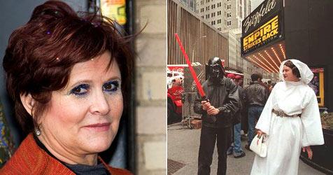 """""""Prinzessin Leia"""" nahm Kokain am """"Star Wars""""-Set"""