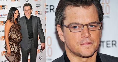 Matt Damons Frau bekommt wieder ein Töcherchen