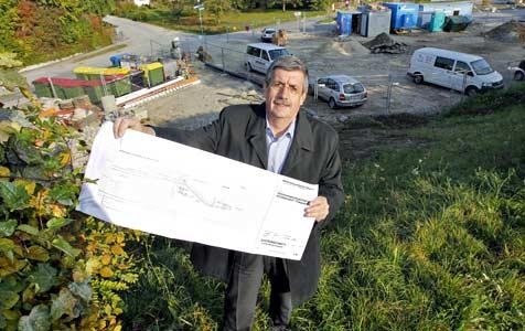 Oberndorf bekommt um 800.000 Euro Hochwasserschutz (Bild: Markus Tschepp)