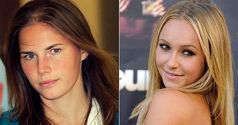 Amanda Knox will Hayden Panettiere nicht treffen