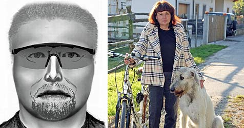 """Polizei sucht mit Phantombild nach """"Pistolen-Mann"""" (Bild: Polizei / Klemens Groh)"""