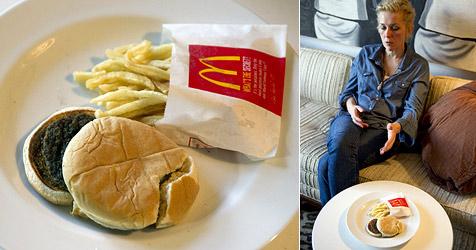 Unverwüstlicher Burger sorgt für Verwunderung (Bild: AFP)