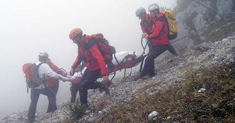 Zwei Alpinisten aus dem Pinzgau stürzen in den Tod (Bild: APA/Roland Mühlanger)