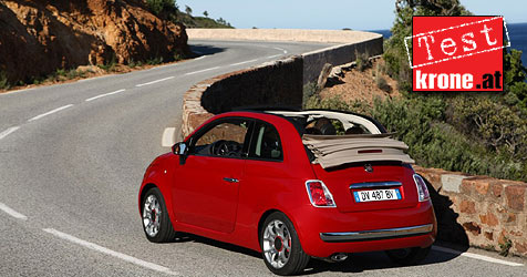 Fiat 500C: Faltdach macht ihn zum Herzensbrecher (Bild: Fiat)