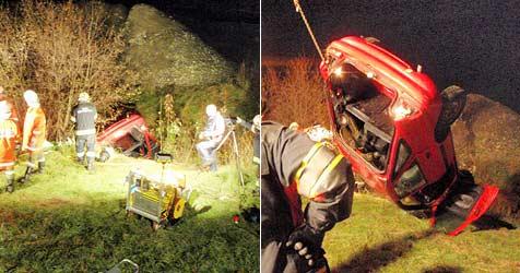 Bursch und Mädel sterben nach Crash im Pinzgau (Bild: FF Mittersill)