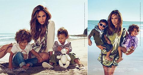 Jennifer Lopez zeigt uns ihre kessen Luxus-Zwillinge (Bild: Gucci)