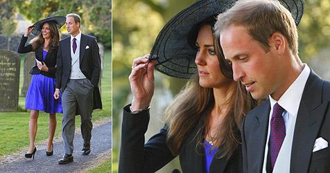Prinz William und Kate besuchen Hochzeit