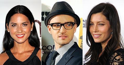 Timberlake soll Biel mit Olivia Munn betrogen haben