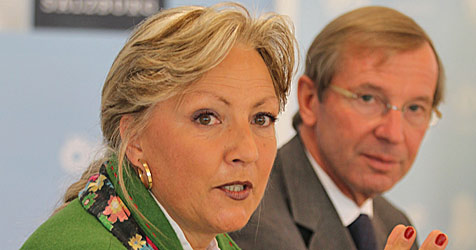 Tina Widmann wird Nachfolgerin von Landesrätin Eberle (Bild: APA/FRANZ NEUMAYR)