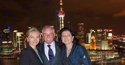 Delegation aus OÖ besucht Expo in Shanghai (Bild: Kalcher)