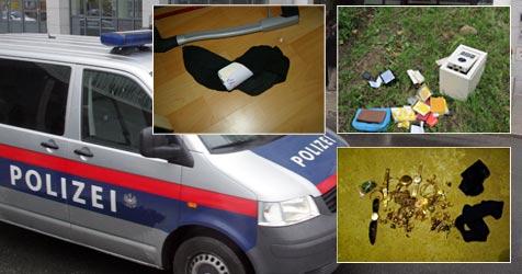 Einbrecher-Trio ging mit Polizeiauto auf Beutezug (Bild: Polizei, Andi Schiel)